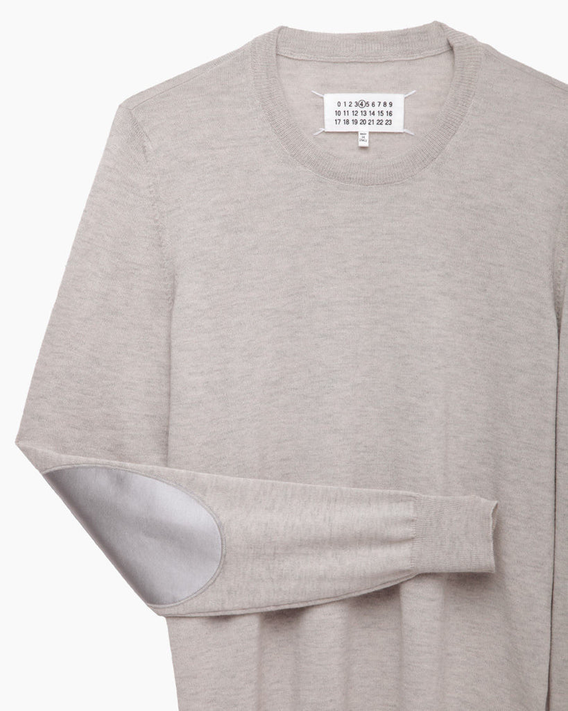 Elbow Patch Pullover