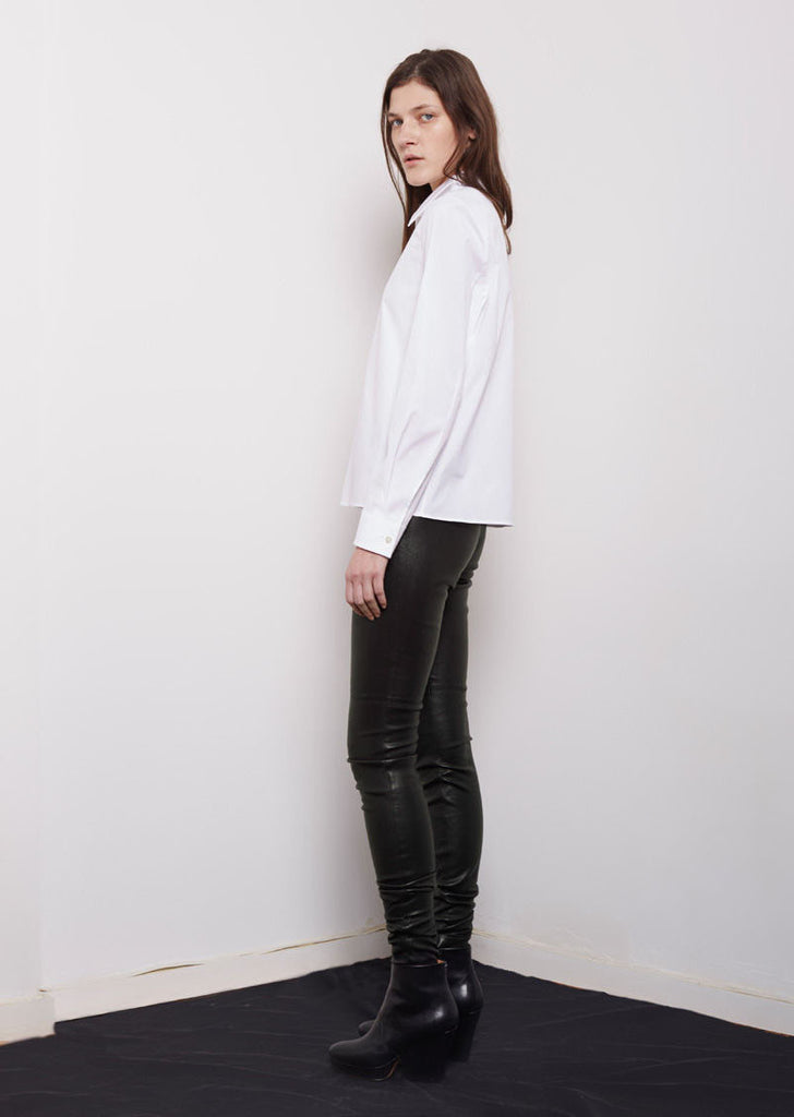 Maison Margiela Line 4 Leather Legging La Garconne