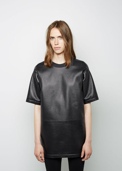 Maison Margiela Line 4 Leather Tunic La Garconne