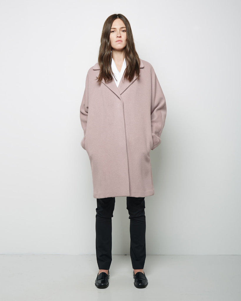 Silken Wool Coat