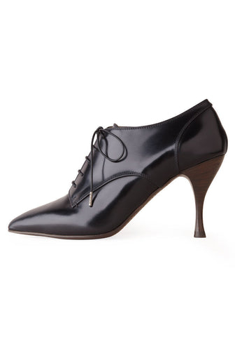 Pointy Toe Oxford with Heel