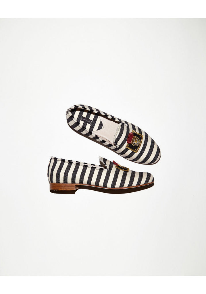 Striped Loafer