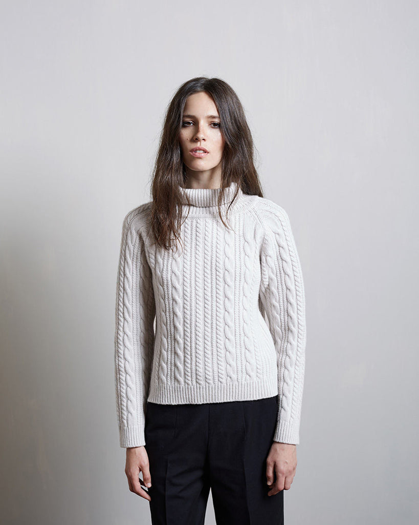 Cable Knit Ski Pullover