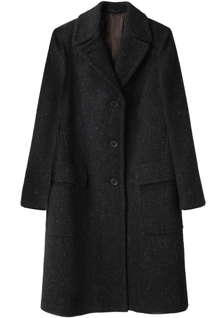 Patch Pocket Overcoat