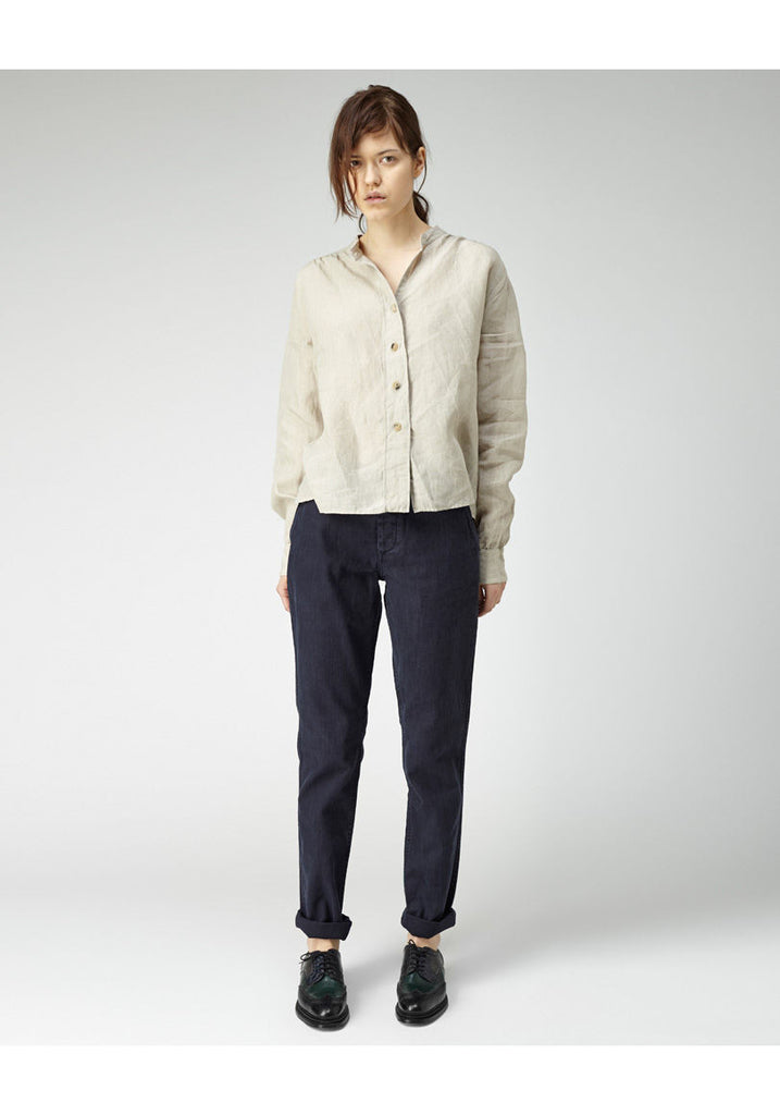 Wide Placket Shirt