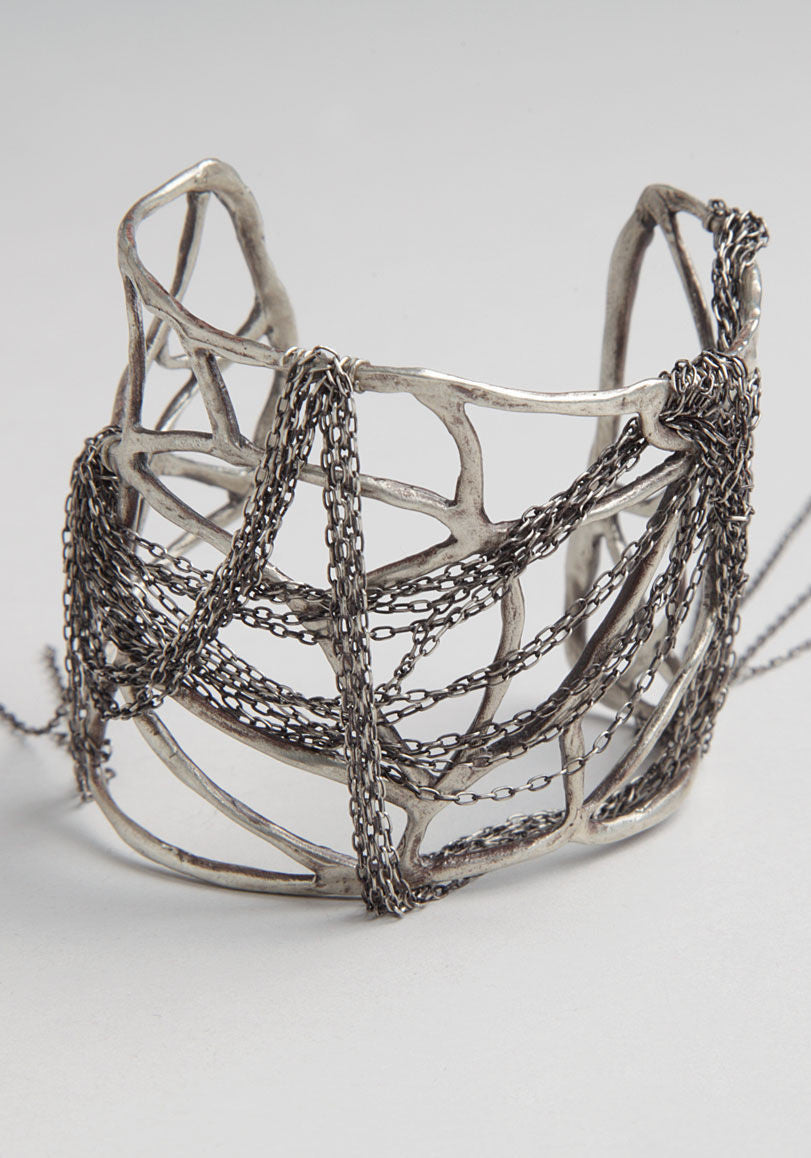 Draped-Chains Cuff