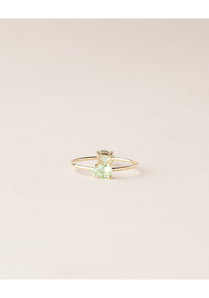 Double Tear Drop Ring