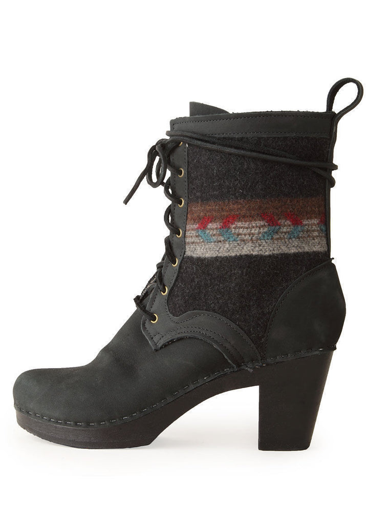 Lace-Up Blanket Boot