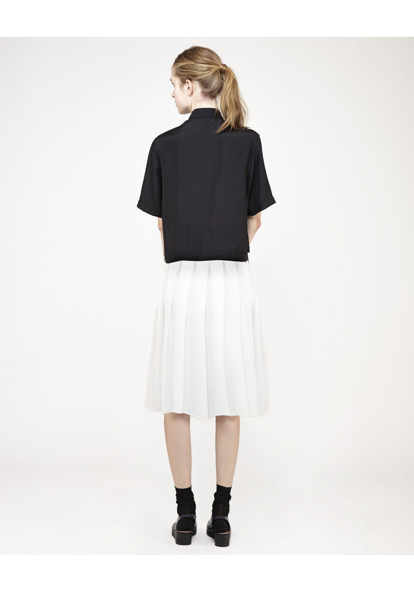Cropped Short Sleeve Shirt