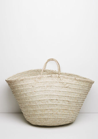 Large Kikapu Palm Basket