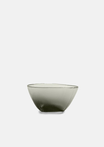 Tela Hand Blown Glass Bowl