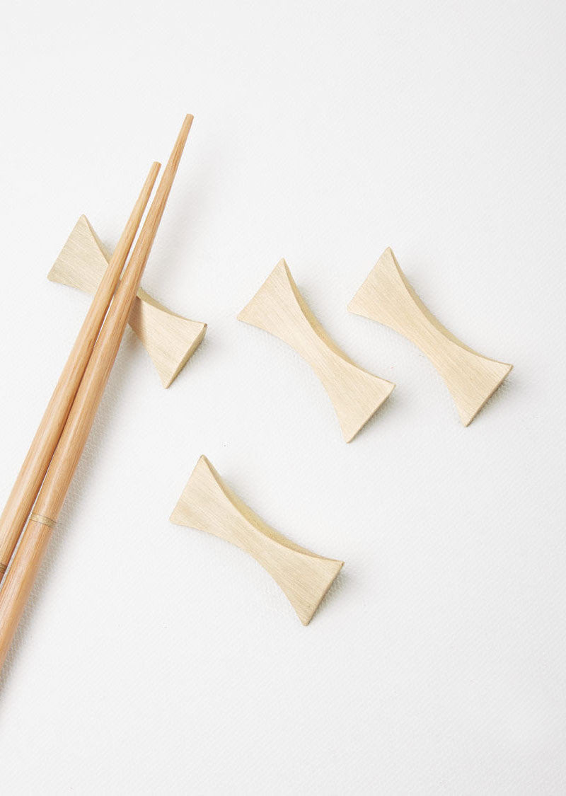 Set Of Four Flash Chopstick Rests