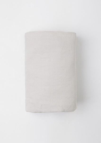 IN BED Dove Fitted Sheet La Garconne