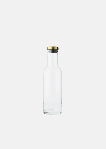 Bottle Carafe with Brass Lid