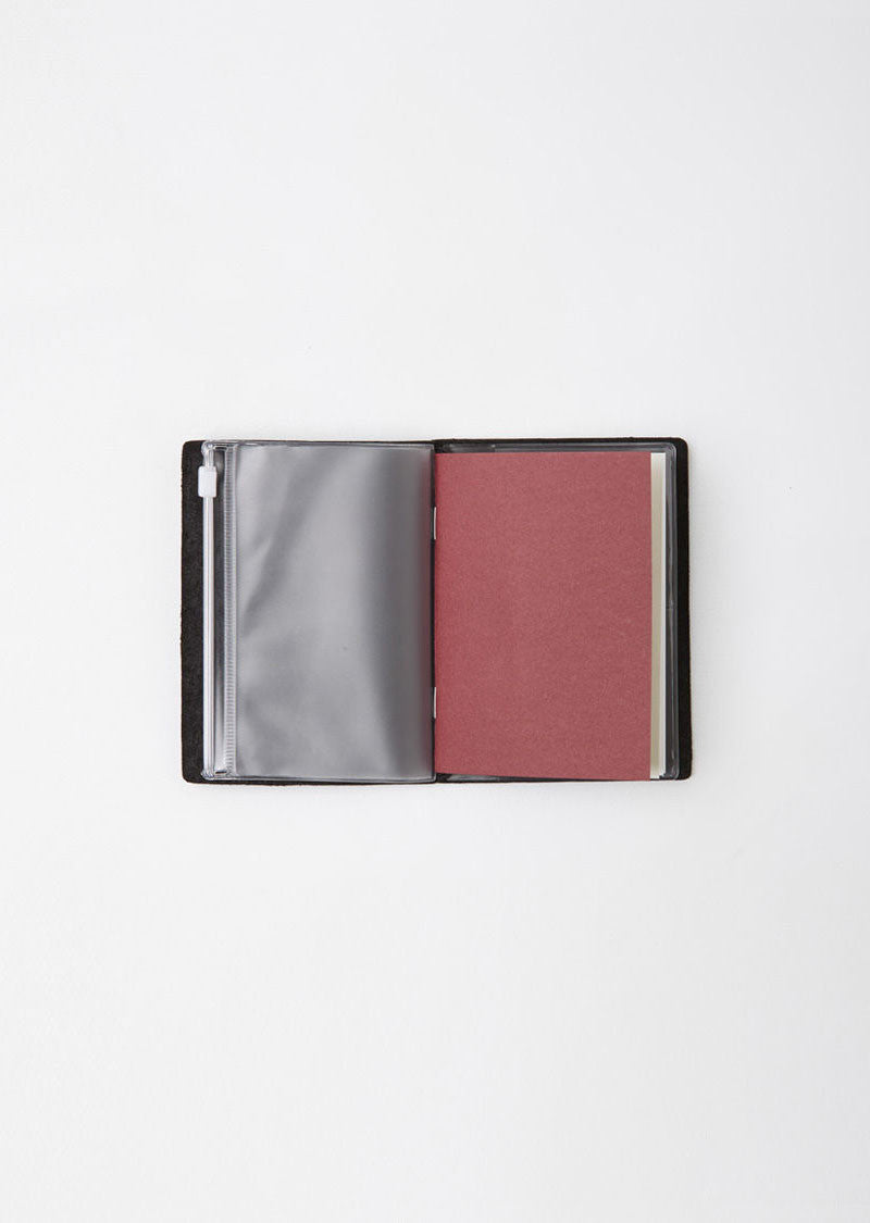 Traveler's Passport Notebook Zip Pocket