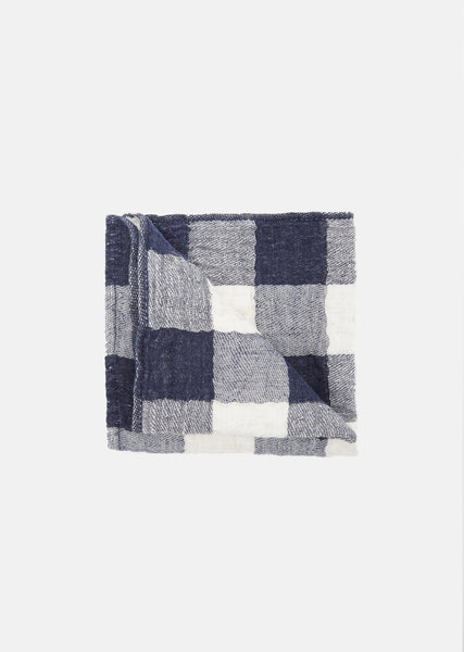 Small Vintage Check Washcloth