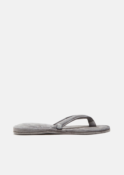 Suede Thong Room Sandals