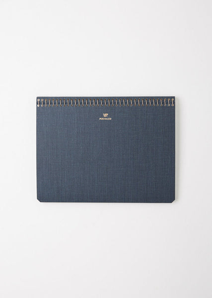 Postalco A5 Pressed Cotton Notebook La Garconne
