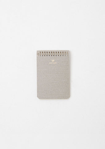 A7 Pressed Cotton Notebook