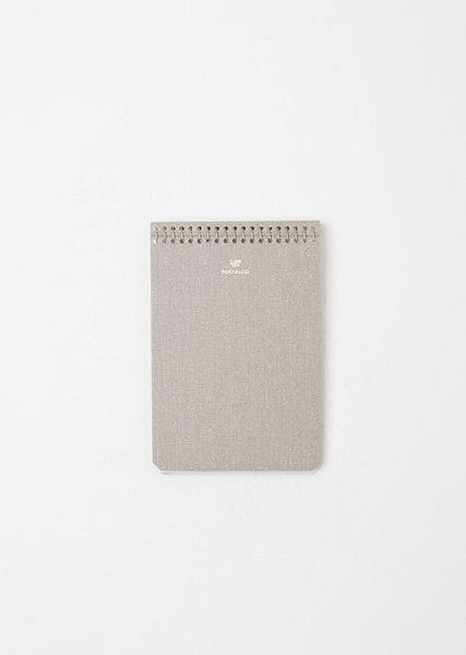 Postalco A6 Pressed Cotton Notebook La Garconne