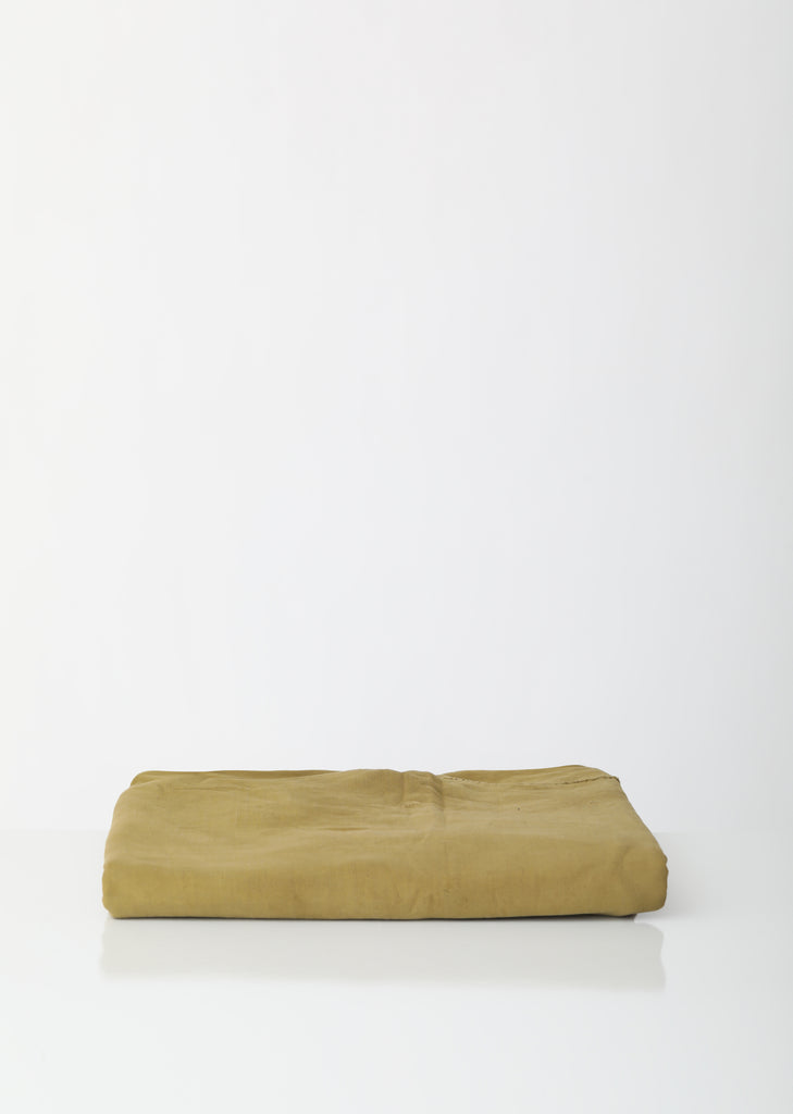 Vegetable Dyed Recycled French Linen Bedspread