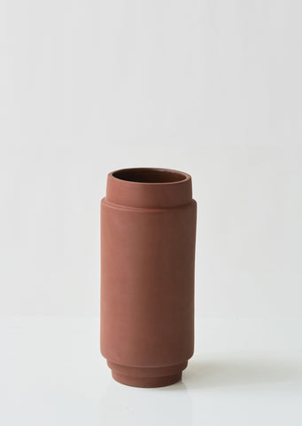 Medium Edge Terracotta Vase