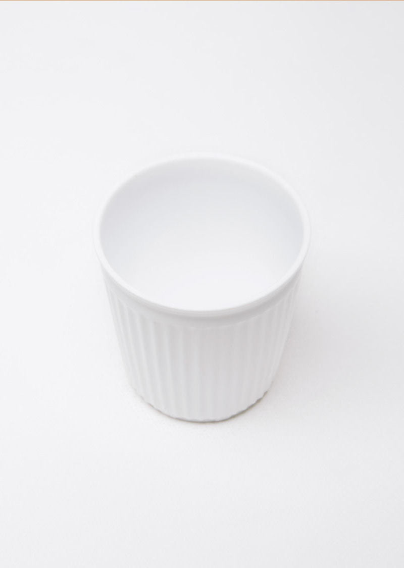 Porcelain Creased Espresso Cup