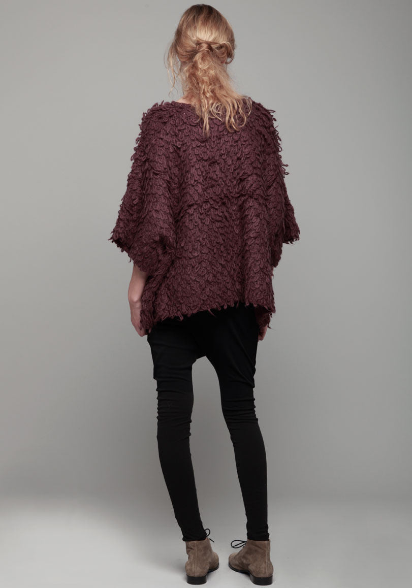 Loopy Knit Pullover