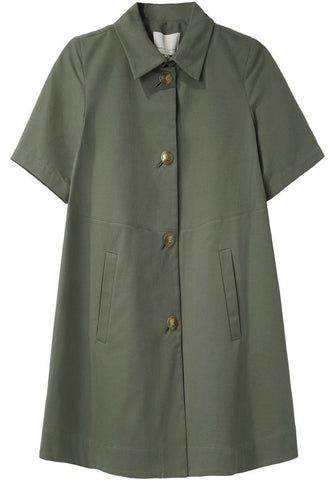 Seamed Flare Coat