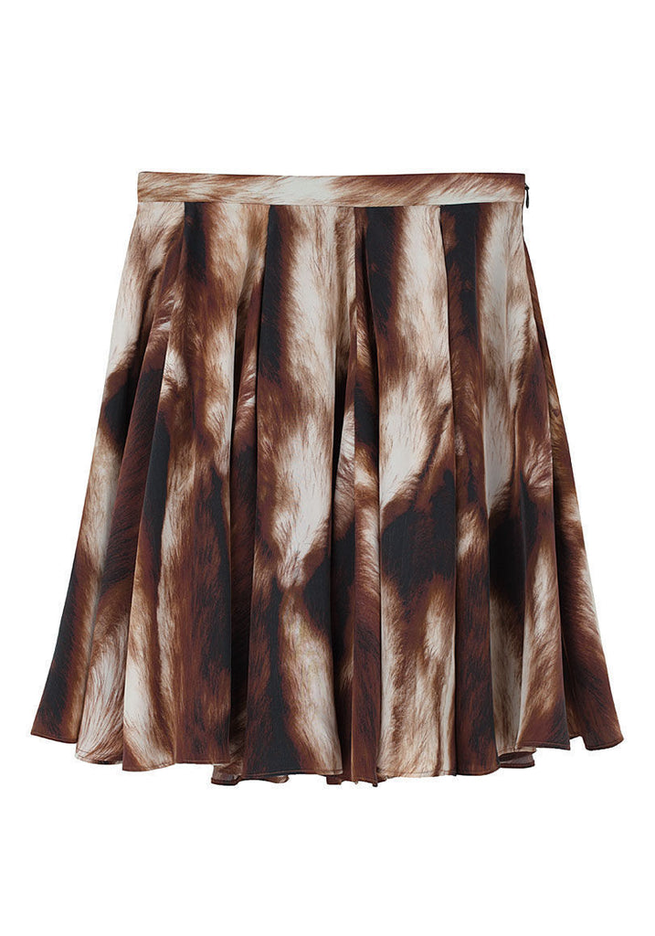 Seamed Full Skirt