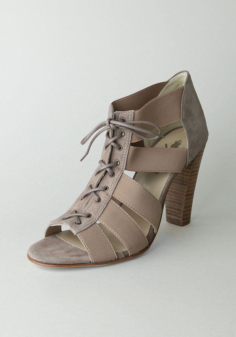 Strap Lace Up Heel