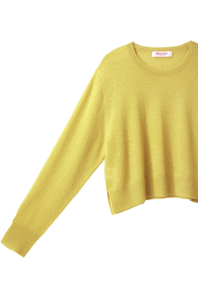 Cropped Knit Pullover