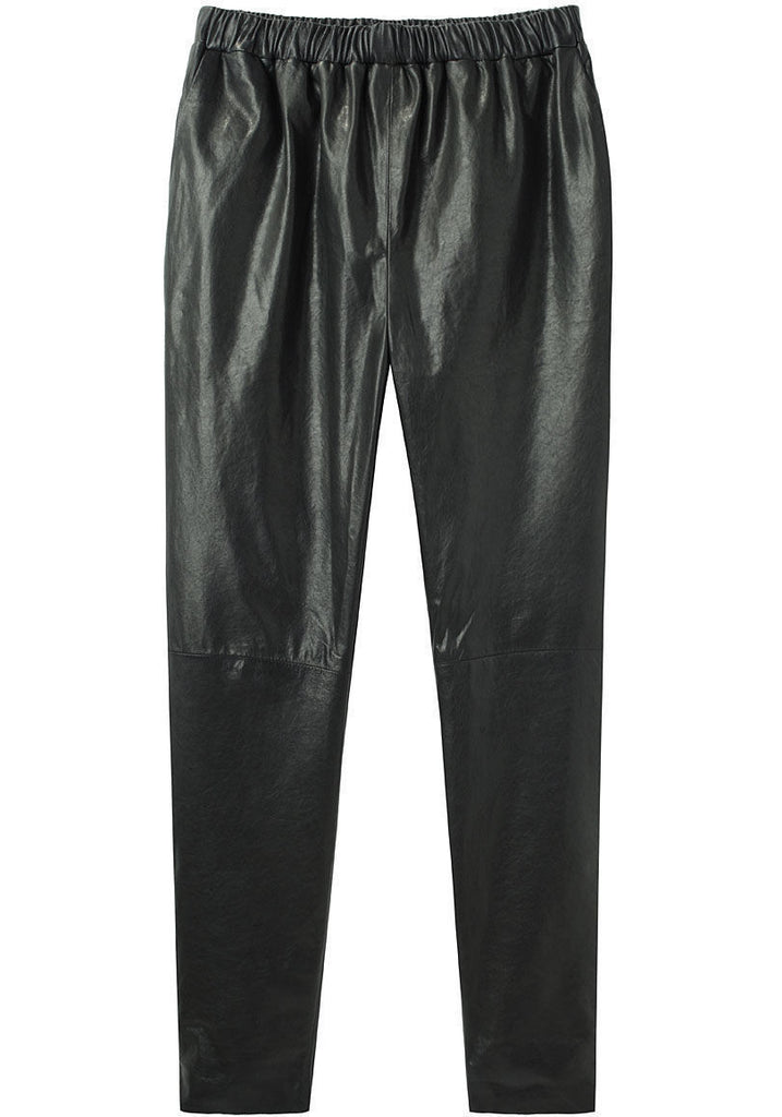 Leather Track Pant