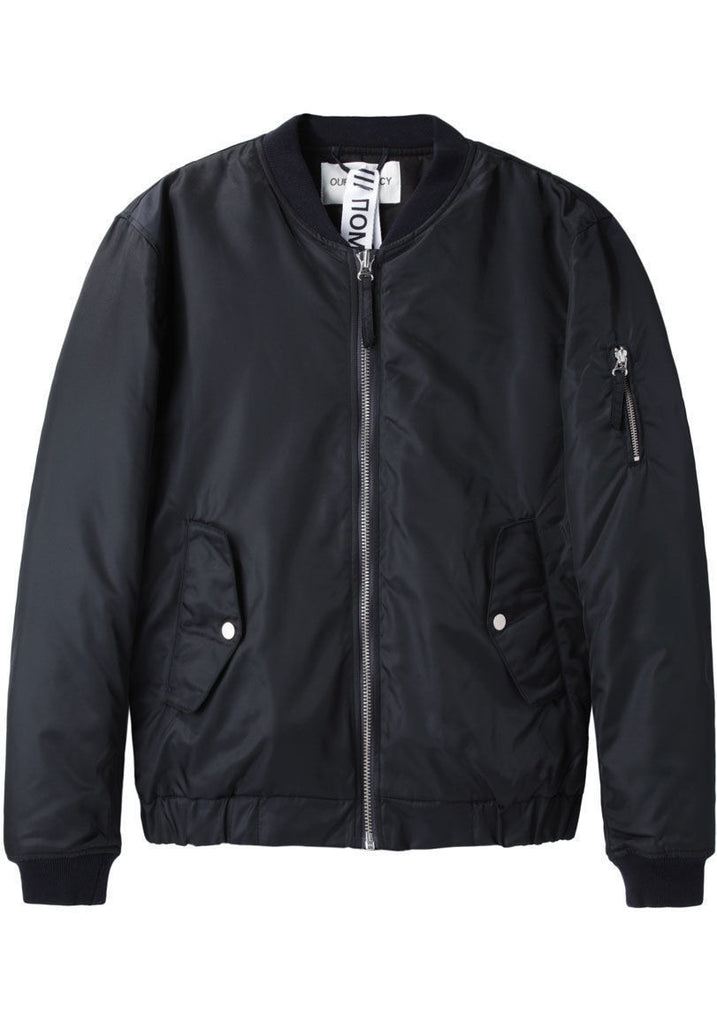 Midnight Shine Bomber Jacket