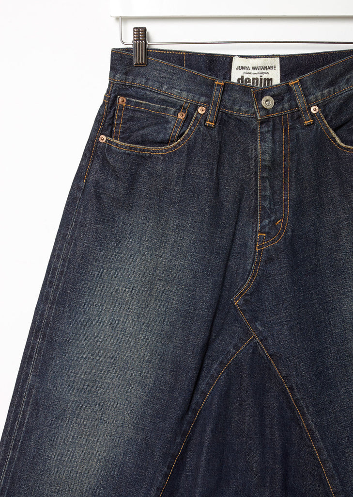 Selvedge Vintage Treated Denim Pants