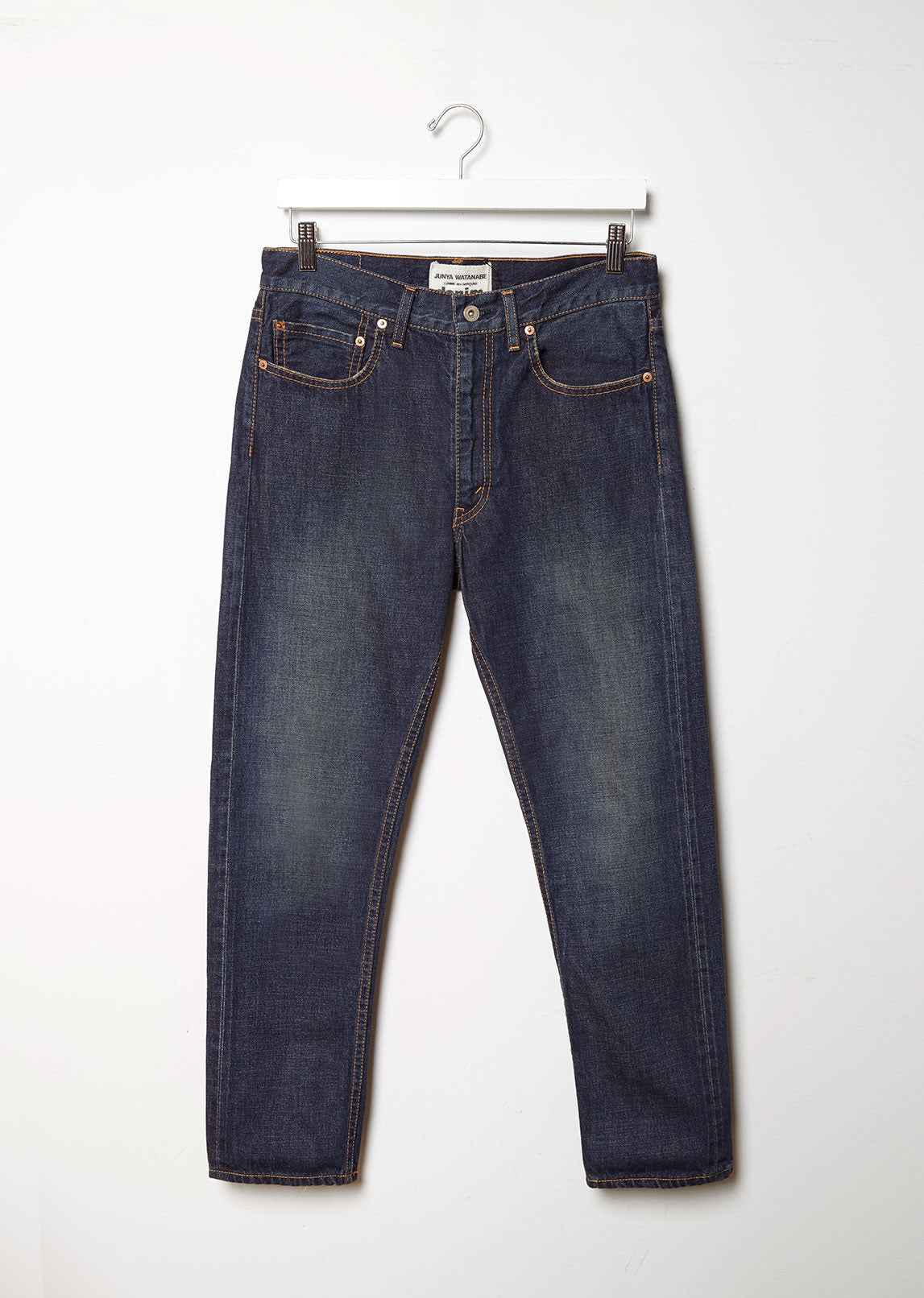 Selvedge Vintage Treated Relaxed Jeans