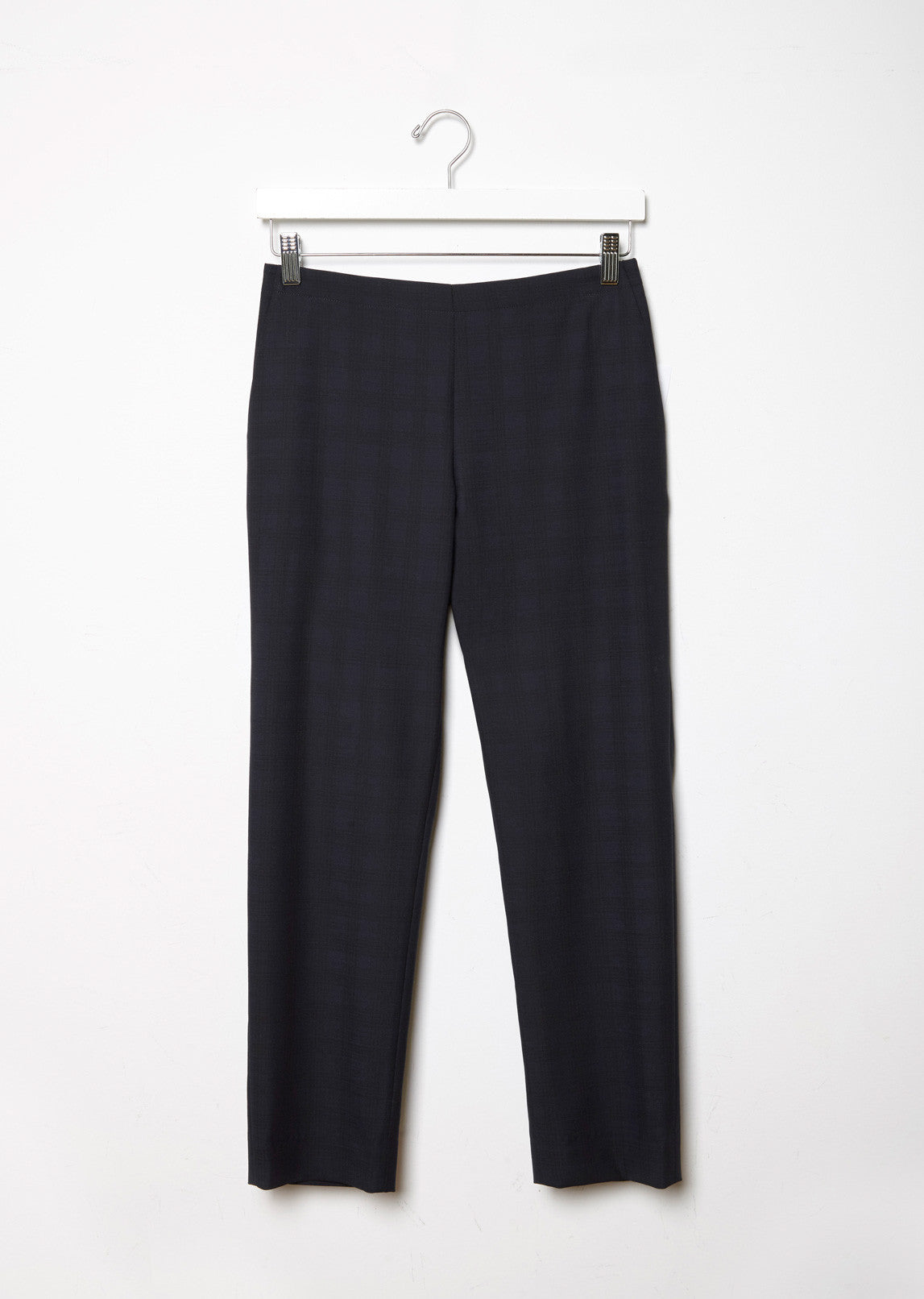 Plaid Pull On Trouser