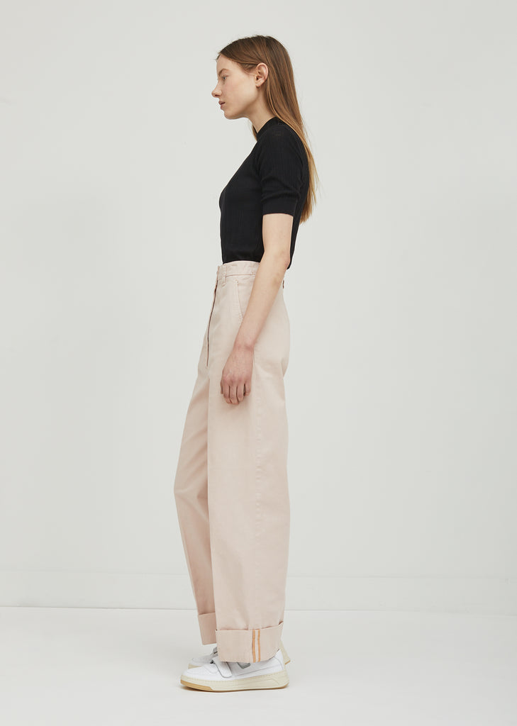 Madya Co Chino Roll Up Pants