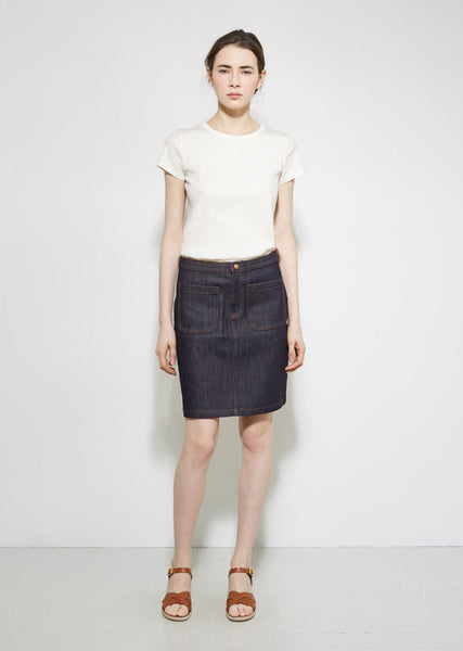 A.P.C. 70's Denim Skirt La Garconne