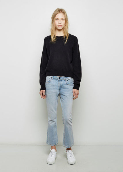 ALEXANDER WANG Trap Cropped Denim La Garconne