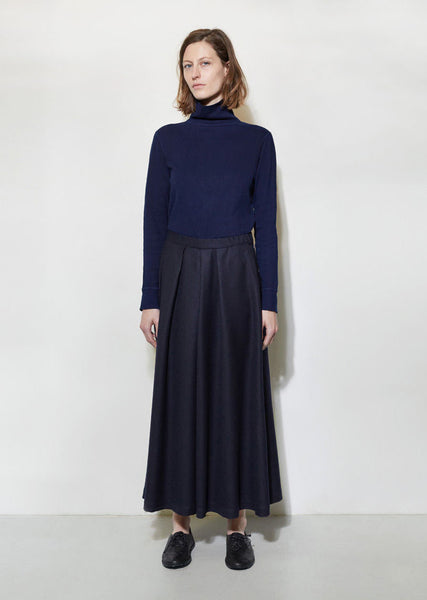 BLUE BLUE JAPAN Wool Hakama Wide Pants La Garconne