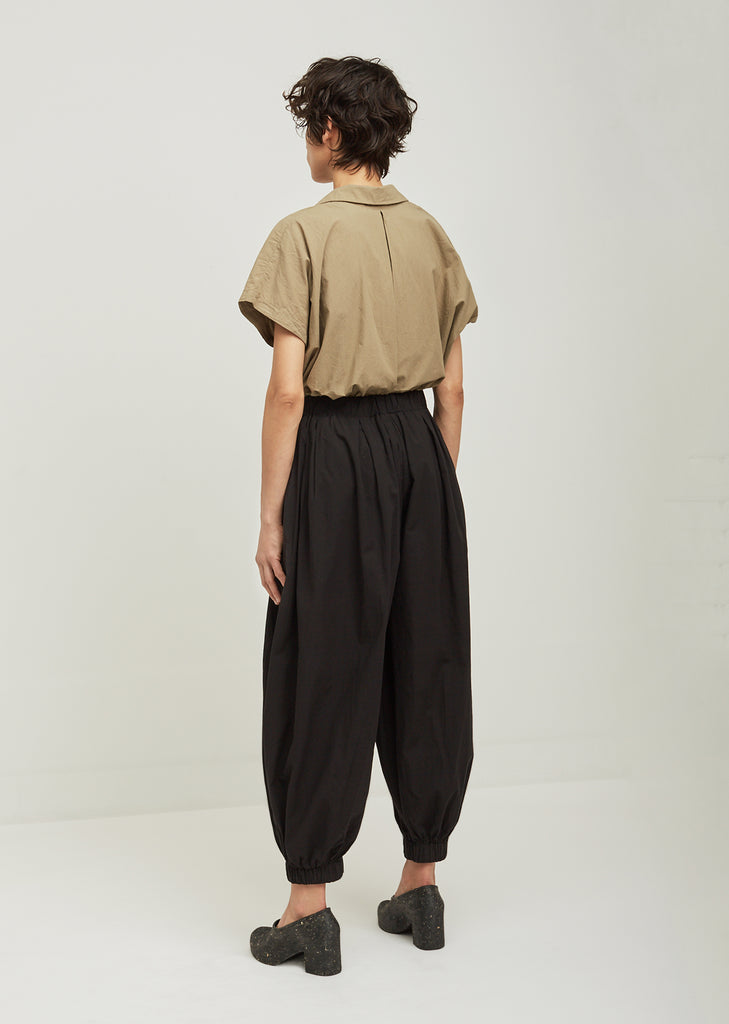 Akari Pleated Cotton Pants