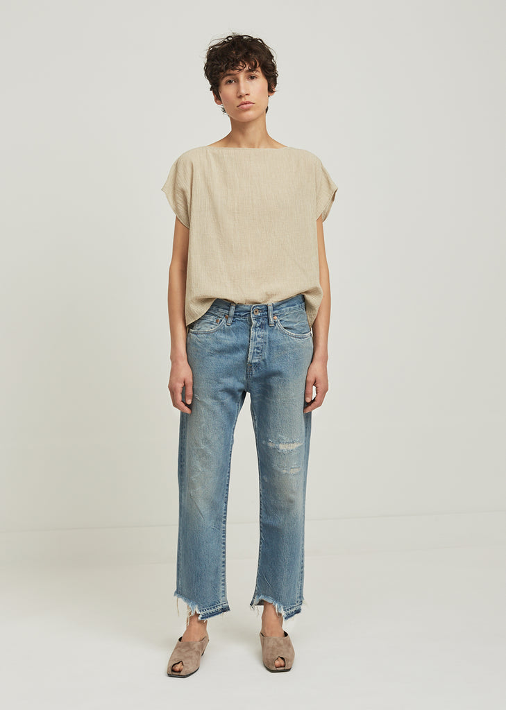 Used Ankle Length Jeans