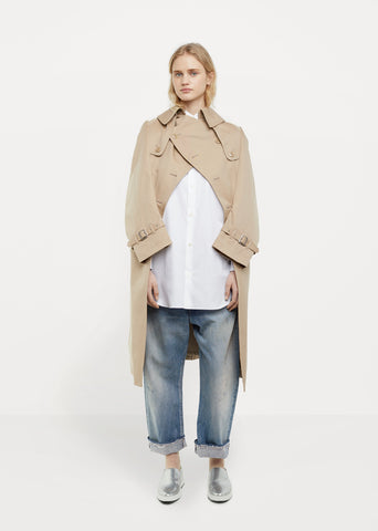 Cotton Gabardine Trench