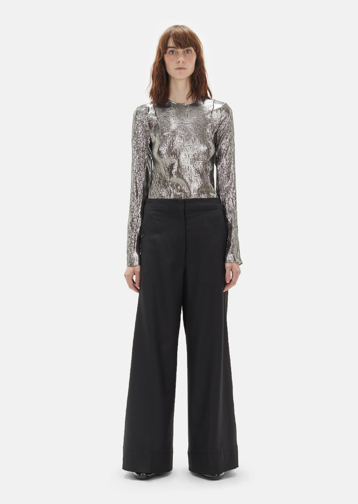Wool Serge Long Pant