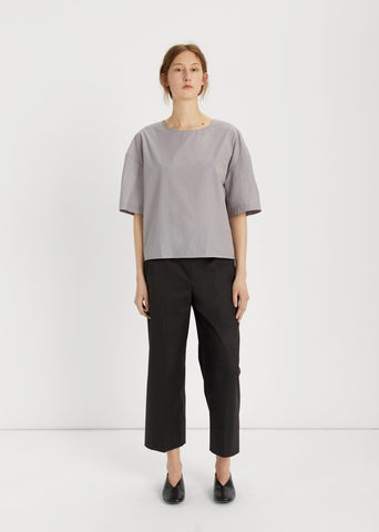 Elasticated Cropped Pants