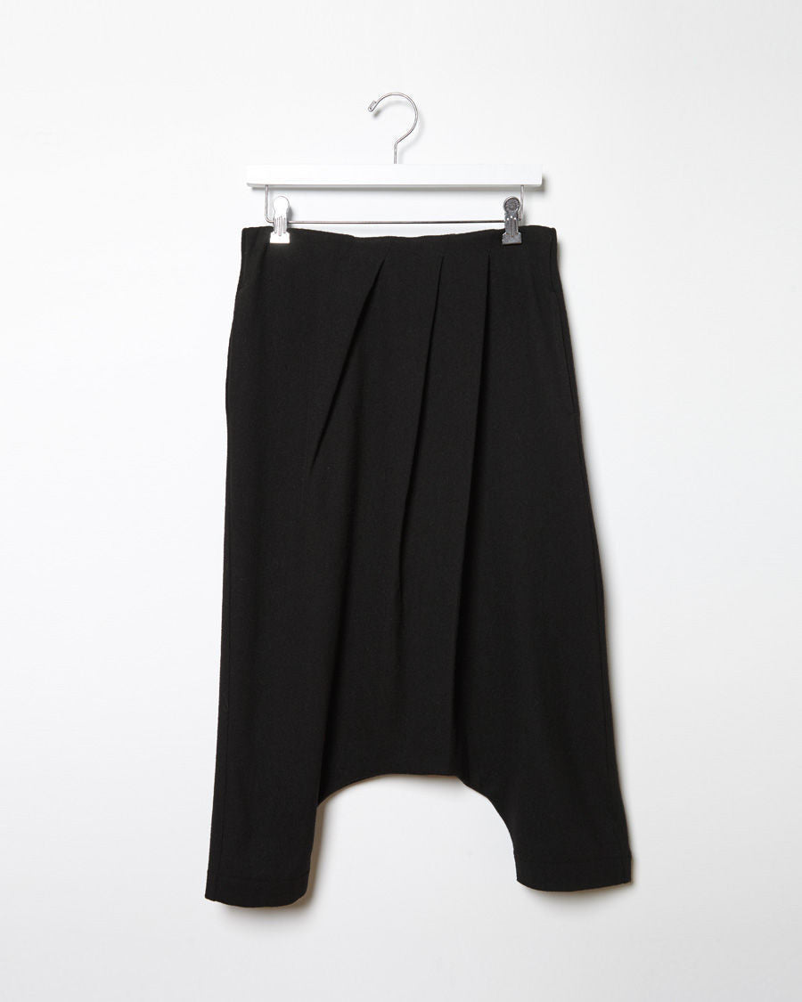 Wool Gauze Balloon Pant