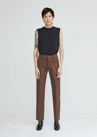 Loro Piana Cotton Denim Trousers
