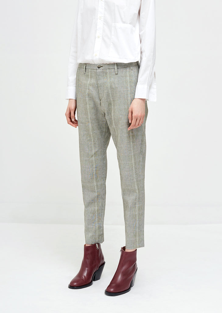 Krissy Linen Cotton Trousers
