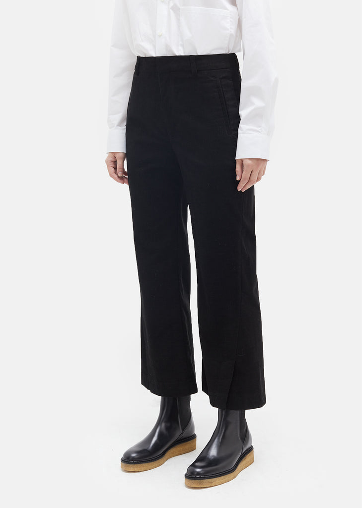High Waisted Corduroy Trouser